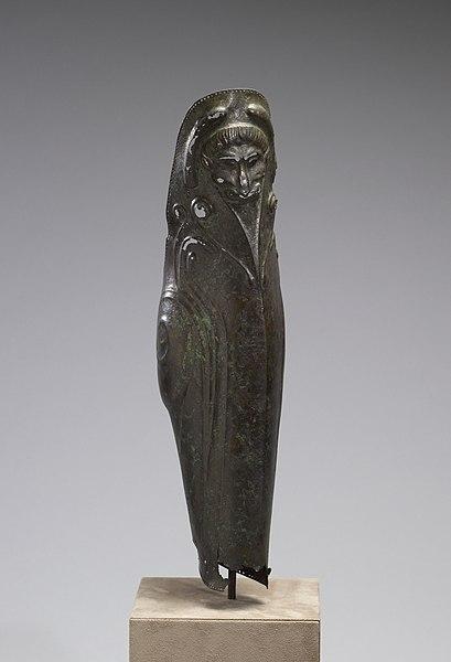 Bronze Hoplite Greave (Front)