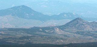 Green Mountain (Kenosha Mountains) mountain in United States of America