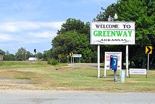 Greenway, Arkansas City in Arkansas, United States