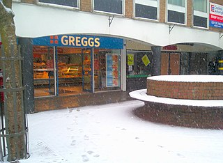 Greggs bakery chain in the United Kingdom