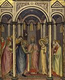 Gregorio di Cecco. The Marriage of the Virgin. ca.1423. London NG.jpg