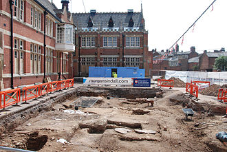 Plantagenet Alliance - The archaeological dig at a Council car park in Leicester, which resulted in the discovery of Richard III's remains