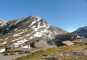 Grimsel Pass - The summit of the pass