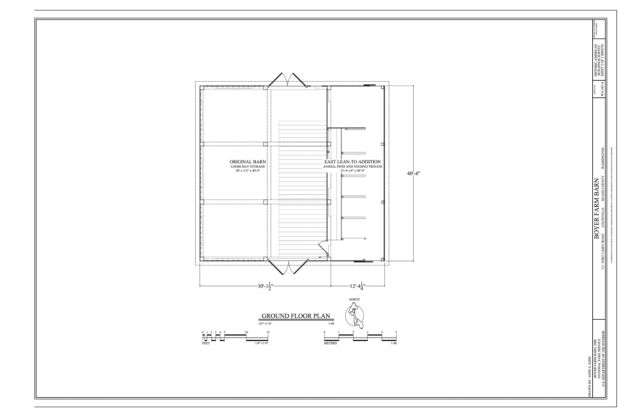 File ground floor plan boyer farm barn 711 south fort for Farm barn plans