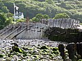 Groynes to the north of the harbour, Porlock Weir - geograph.org.uk - 1710459.jpg