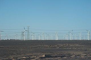 Gansu Wind Farm wind farm project in Gansu province, China