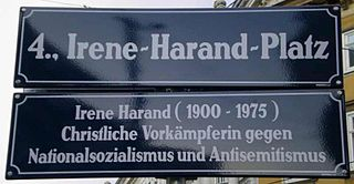 Irene Harand Austrian Righteous Among the Nations