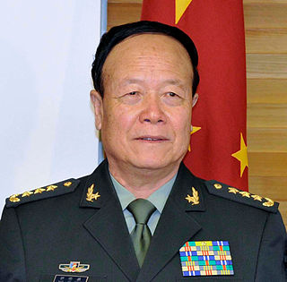 Guo Boxiong former Vice Chairman of the Central Military Commission of China