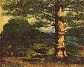 14 / Landschaft mit Baum
