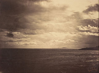 Cloudy Sky - Mediterranean Sea
