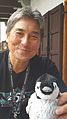 Guy Kawasaki meeting 'Mr Penguin' at Wikimania 2016.jpg