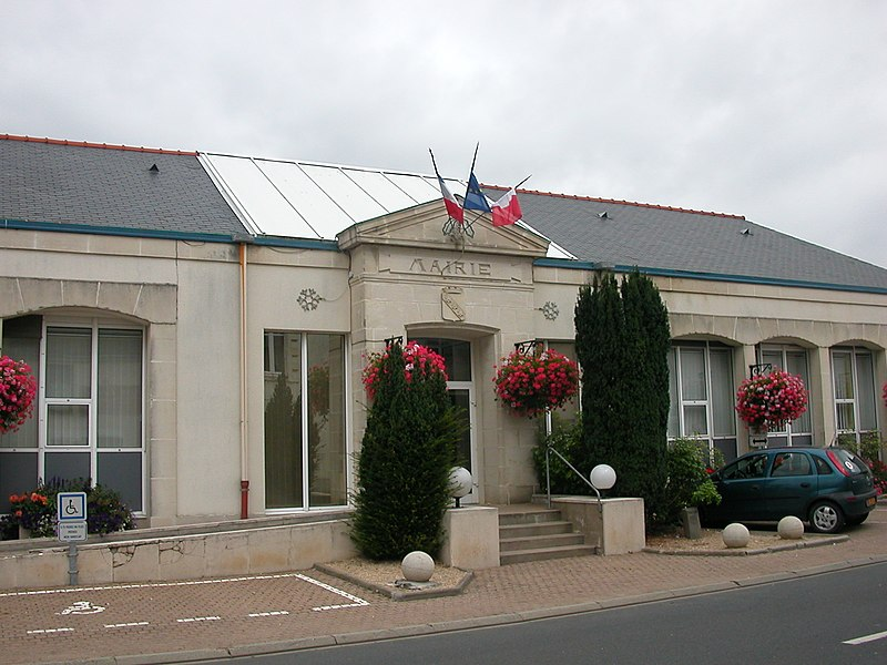 Town hall of Héric