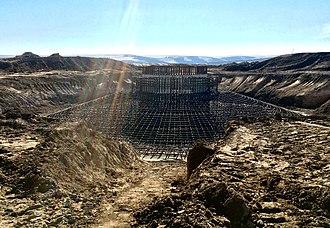 Arlington, Oregon - Montague Wind Project under construction.