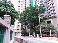 HKU PFL Campus stone wall 半山 Mid-levels 般咸道 Bonham Road April 2019 SSG 03.jpg