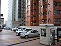 HK 天后 Tin Hau 金龍台 13 Dragon Terrace 乘龍閣 Shing Loong Court carpark May-2014 view Dragon Heart Court.jpg