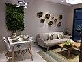 HK 油麻地 Yau Ma Tei 碧桂園 Country Garden Sales Office Wing On Kln Centre Garden Dec 2018 SSG Showflat dining room n living room interior.jpg