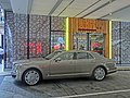 HK 灣仔 Wan Chai 太原街 Tai Yuen Street Hotel Indigo carpark n shop 金碧軒 Rainbow Chinese Cuisine and Bar May-2014 Rolls-Royce.JPG