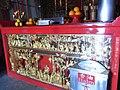 HK 蒲台 Po Toi Island 天台古廟 Tin Hau Temple interior red table Balm oil box Oct-2012.JPG