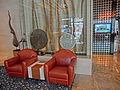 HK 西環 Sai Ying Pun 水街 Water Street 167 Connaught Road West 香港萬怡酒店 Courtyard by Marriott Hong Kong hotel lobby hall sofa armchairs Jan-2014.JPG
