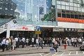 HK 觀塘 Kwun Tong 駿業街 Tsun Yip Street shop RedTea Restaurant visitors queue at COS Tower October 2018 IX2 03.jpg