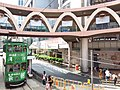 HK CWB 銅鑼灣 Causeway Bay 怡和街 Yee Wo Street ring shape footbridge June 2019 SSG 02.jpg