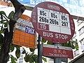 HK Hung Hom 德民街 Tak Man Street 1stBus 796X KMBus 85C 85X 268B 297 115 signs.jpg