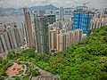 HK North Point Mid-Levels Summit Court view Ming Yuen Western Street Lime Habitat n Tanner Road construction site.JPG