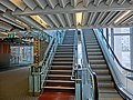 HK PolyU Hung Hom Bay Campus 8 Hung Lok Road HKCC escalators interior stairs Mar-2013.JPG