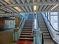 HK PolyU Hung Hom Bay Campus 8 Hung Lok Road HKCC escalators interior stairs Mar-2013.JPG