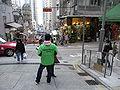 HK Sai Ying Pun 西環正街 Centre Street GreenPeace uniform staff.jpg