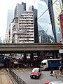 HK tram tour view 灣仔 Wan Chai 軒尼詩道 Hennessy Road 堅拿道天橋 Canal Road Flyover July 2019 SSG 03.jpg