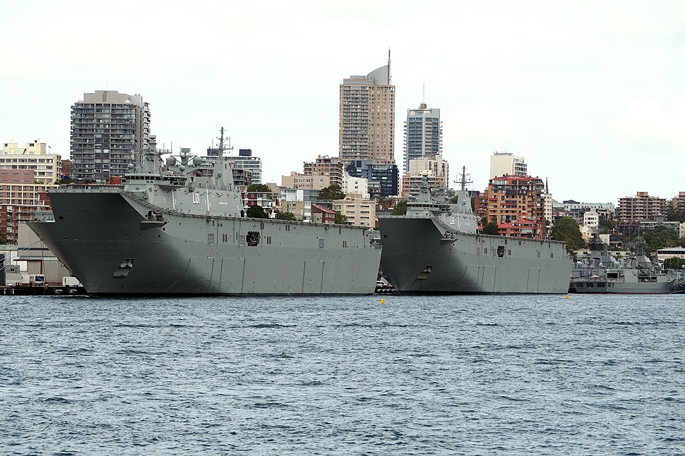 HMAS Canberra & HMAS Adelaide