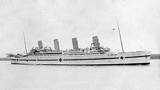 HMHS Britannic - Image: HMHS Britannic