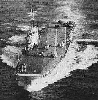 HMS Centaur (R06) - Centaur in 1955