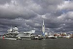 HMS QUEEN ELIZABETH LEAVES PORTSMOUTH FOR HELICOPTER TRIALS MOD 45163786.jpg
