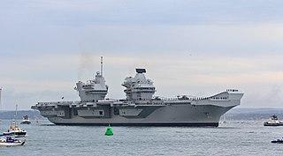<i>Queen Elizabeth</i>-class aircraft carrier Class of British aircraft carriers
