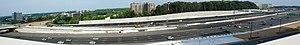 Virginia HOT lanes - Image: HOT Capital Beltway Panorama 4