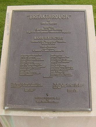 National Churchill Museum - 'The famous, Breakthrough Planck'