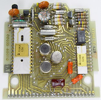 HP-35 - HP-35 mainboard.