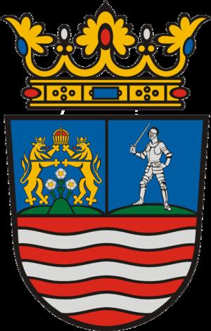 Counties of Hungary - Image: HUN Győr Moson Sopron megye COA