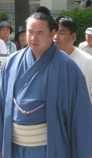 Hakuba Takeshi Sumo wrestler