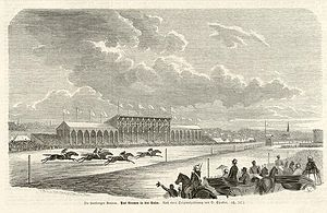 Horner Rennbahn - Horce racing at Horner Rennbahn in 1860
