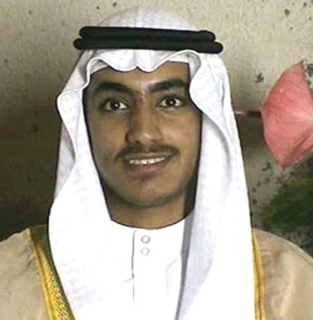 Hamza bin Laden Islamic terrorist and son of Osama bin Laden