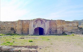 Sultanate of Rum - Hanabad caravanserai in Çardak (1230)
