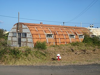 Santa Maria Airport (Azores) - A World War II Quonset hut used to lodge members of the military
