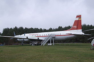 Ilyushin Il-18 - An example at a museum in Borkheide, Germany