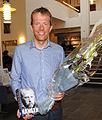 Harald Dag Jølle mottar Sørlandets litteratur 2012 i kategori sakprosa.jpg