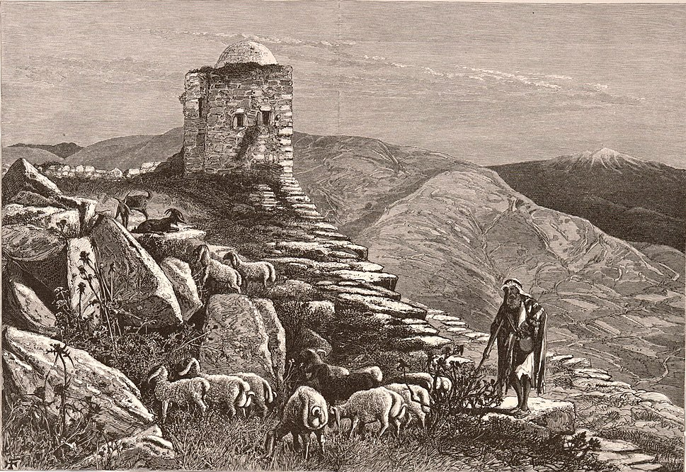Harry Fenn. Ruins on the summit of Mount Gerizim, on the site of the Samaritan temple. 1881-1884