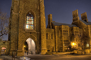 Hart House (University of Toronto) - Hart House at night