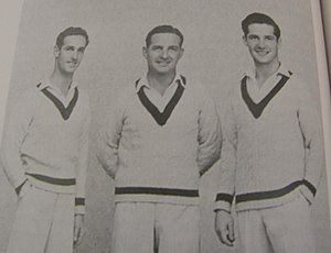 Harvey brothers - At one point during the 1947–48 season, Ray, Merv and Neil Harvey were all members of the Victorian team.